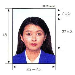 老挝签证照片要求
